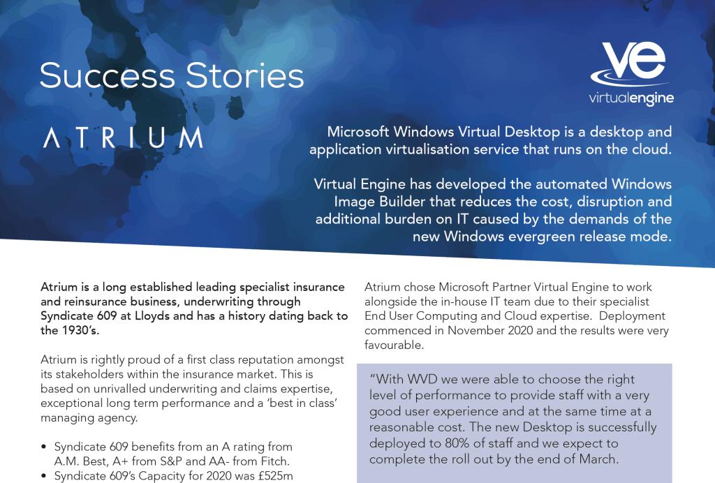 Atrium Success Story